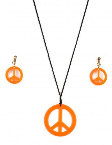 Hippie accessoires set voor volwassenen-3