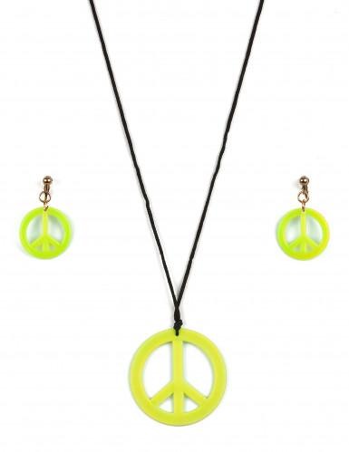 Hippie accessoires set voor volwassenen-2