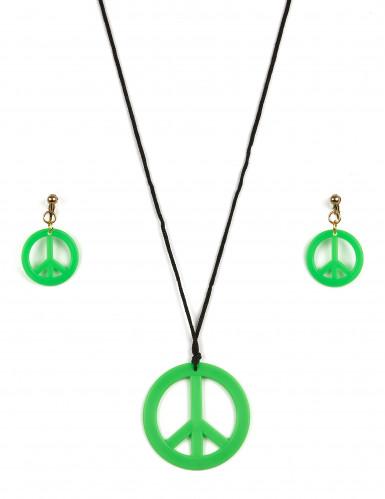 Hippie accessoires set voor volwassenen-1