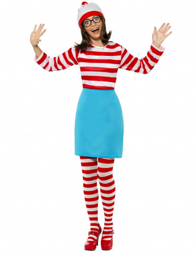 Waar is Wally?™ kostuum voor dames