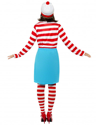 Waar is Wally?™ kostuum voor dames -1