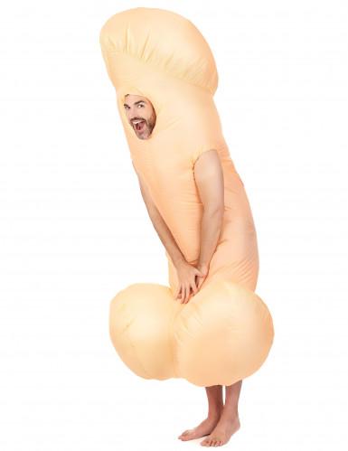 Opblaasbare penis kostuum voor volwassenen-1