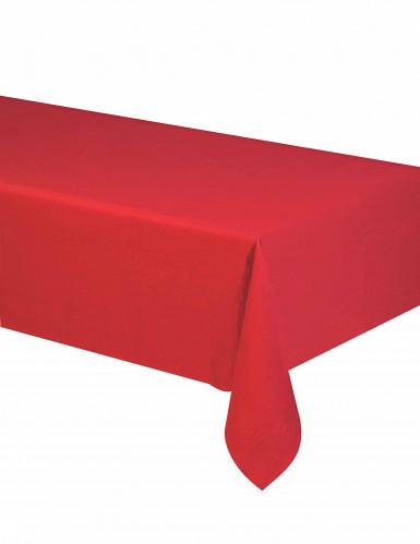 Rode papieren tafelkleed