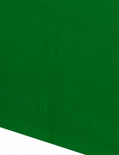 Groen papieren tafelkleed-1