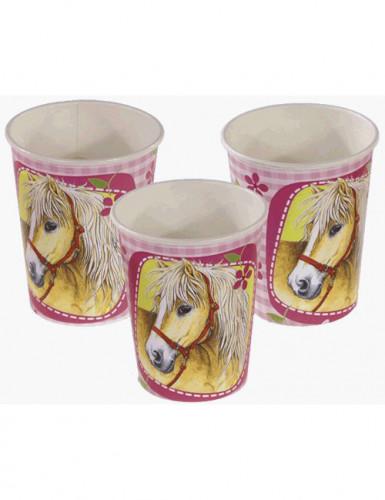 Bekertjes paarden