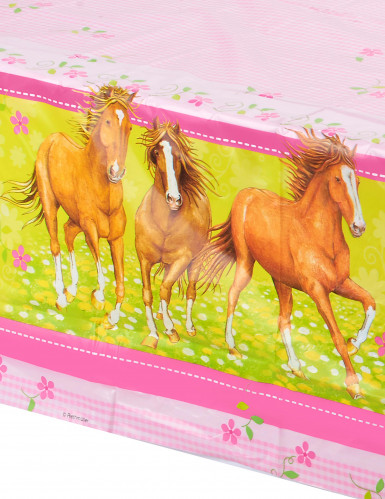 Tafelkleed thema Paard 120 x 180 cm-1