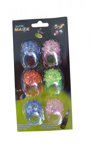 Set van lichtgevende ringen voor meisjes