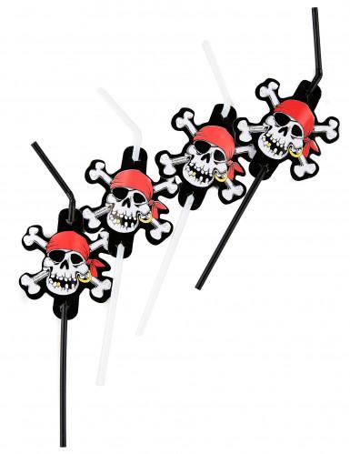 Piraten rietjes