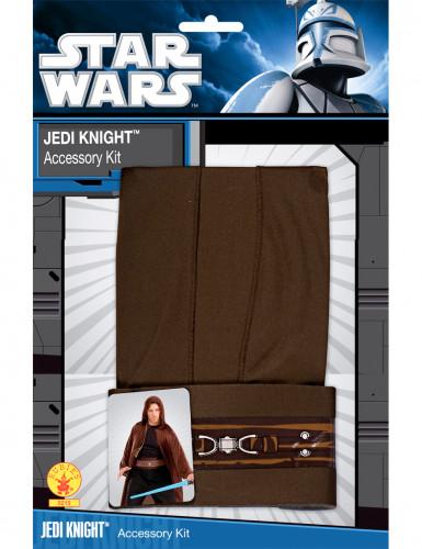Star Wars™ Jedi cape en accessoires voor volwassenen-1