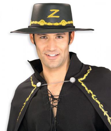Zorro™ hoed voor volwassenen