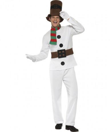 Sneeuwpop kostuum voor volwassenen