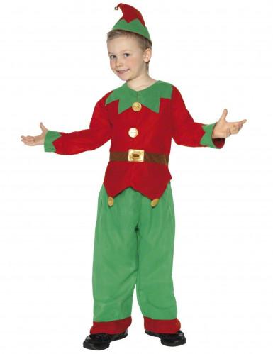 Elf kostuum voor jongens Kerst