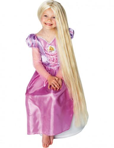 Lichtgevende Rapunzel™ pruik voor meisjes