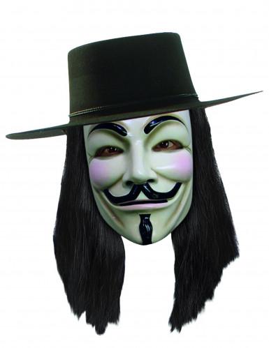 V for Vendetta™ pruik voor volwassenen