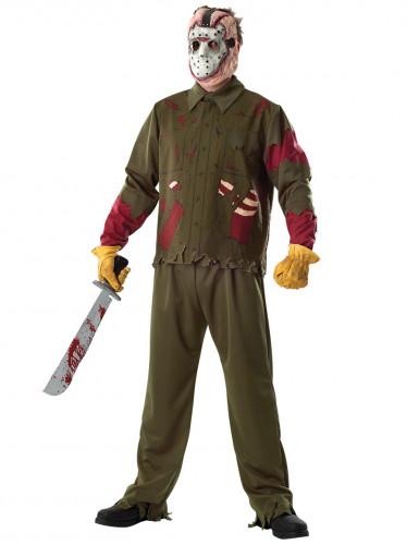 Deluxe Jason™ Friday the 13th™ kostuum voor mannen