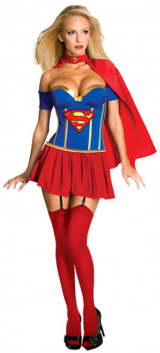 Sexy Supergirl ™ outfit voor dames
