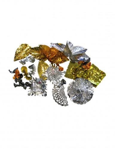 Pot jaarwisseling decoratie goud en zilver