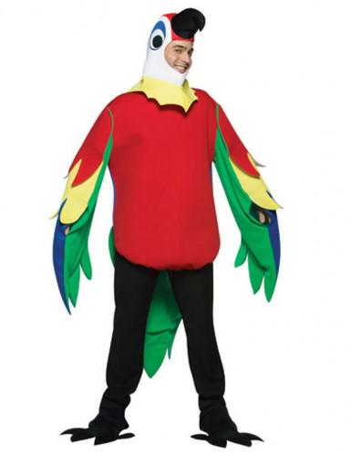 Papegaai pak voor volwassen