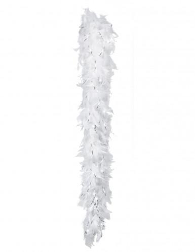 Wit-zilveren boa voor volwassenen