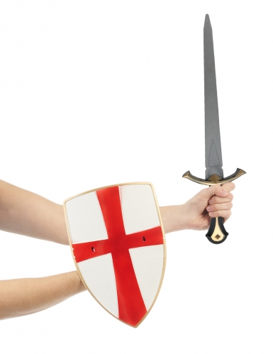 Ridder set met schild en zwaard voor volwassenen-1