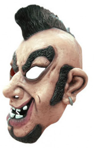 Punk rocker masker voor volwassenen-1