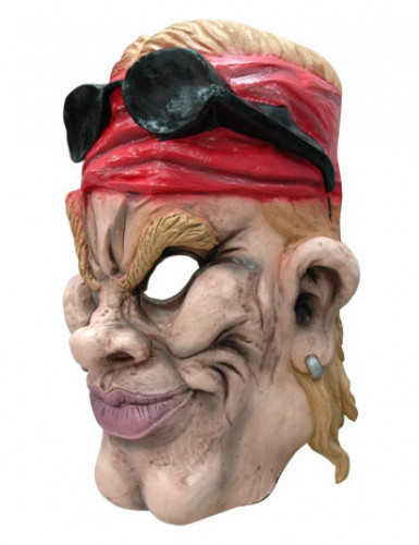 Latex heavy metal rocker masker-1