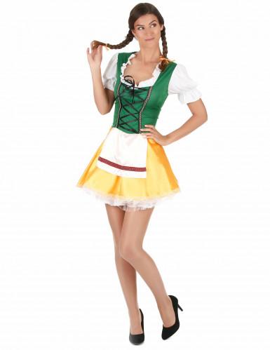 Dirndl jurk voor volwassenen-1