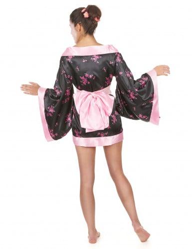 Kort geisha kostuum voor dames-2