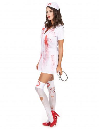 Psychopathische verpleegster kostuum voor vrouwen-1