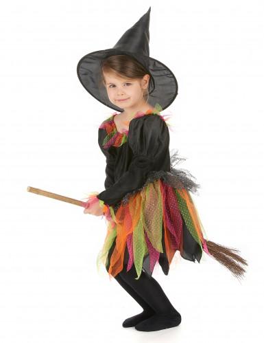 Toverheks kostuum voor kinderen-1