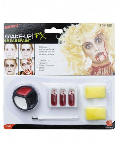 Zombie make-up set voor volwassenen-1