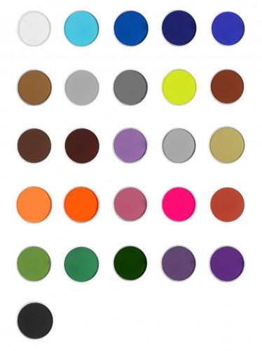 Make-up op waterbasis beschikbaar in verschillende kleuren