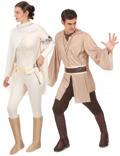 Jedi en Amidala Star wars™ koppelkostuum