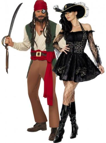Piratenkostuum voor koppels