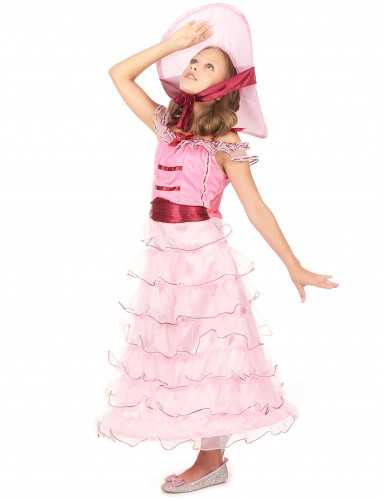 Roze Scarlett O'Hara outfit voor meisjes-1