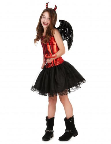 Duivelskostuum voor meisjes