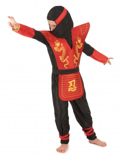 Draken ninjakostuum voor jongens-1