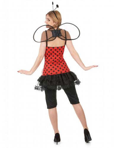 Lieveheersbeestjeskostuum voor vrouwen-2
