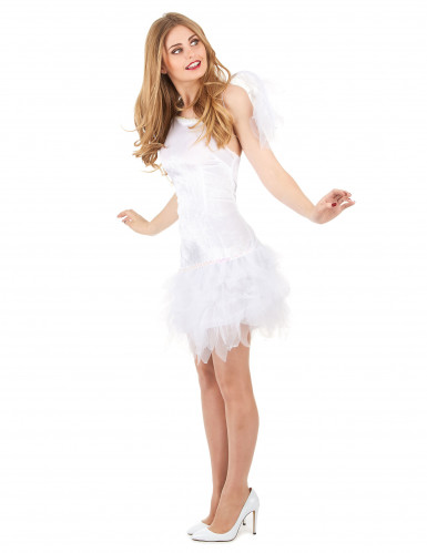 Sexy engel kostuum met tule stof voor vrouwen-1