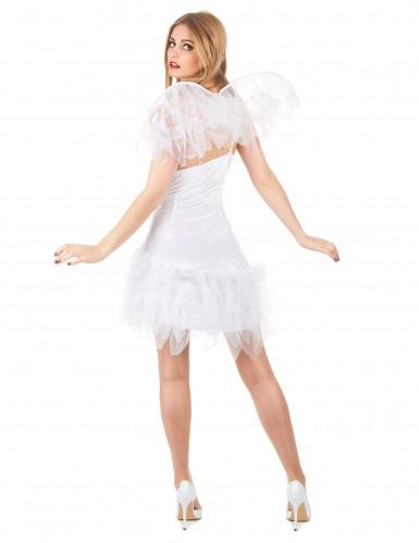 Sexy engel kostuum met tule stof voor vrouwen-2