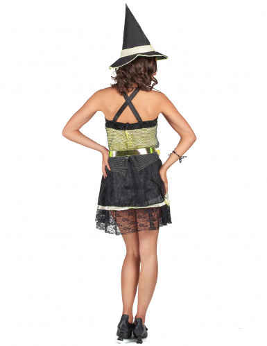 Halloween kostuum van heks voor dames-2