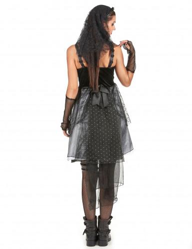 Gothic bruidskostuum voor vrouwen-2
