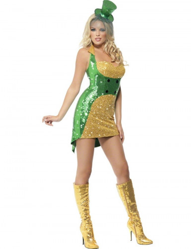 Sexy Ierse outfit voor dames St Patrick's Day