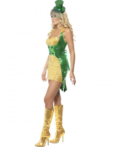 Sexy Ierse outfit voor dames St Patrick's Day-2