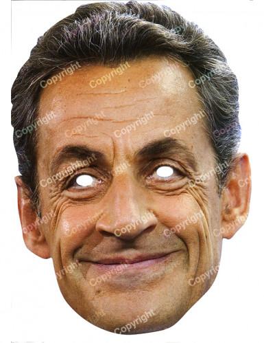 Masker van Nicolas Sarkozy