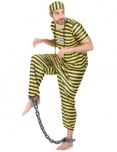Gele gevangenisplunje voor mannen-1