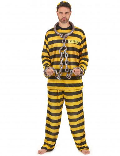 Gele gevangenisplunje voor volwassenen