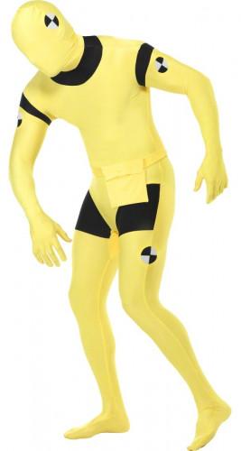 Crash test dummy kostuum second skin