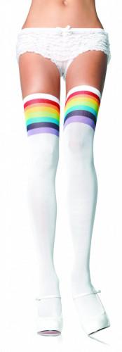 Kousen met regenboogprint voor vrouwen