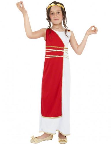Kostuum Romeinse godin voor meisjes